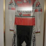 Francesco Moser's skinsuit