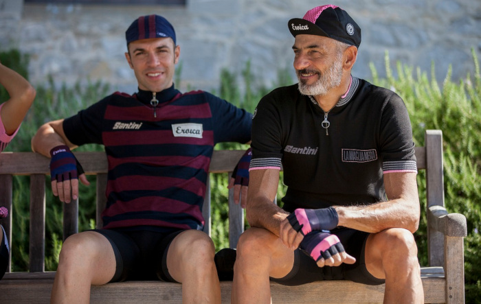 09 25 2018 - Santini s 2018 Eroica collection is an authentic line of  vintage cycling clothing for men and women who 6924ddf85
