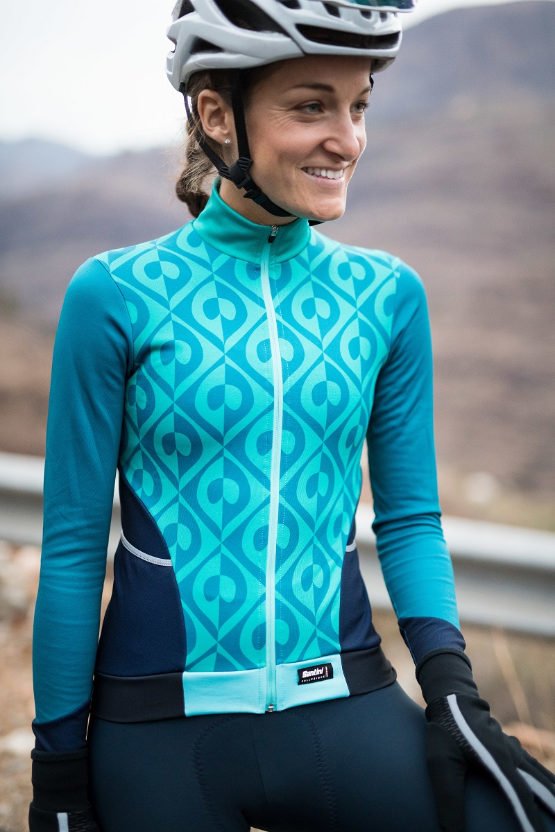 Santini ambassador and cycling superwoman Lizzie Deignan launches her new  Lizzie X Santini signature collection with a selection of women s winter  apparel. 92280d13c